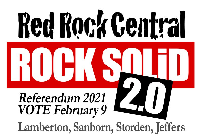 Red Rock Central 2021 Referendum Logo