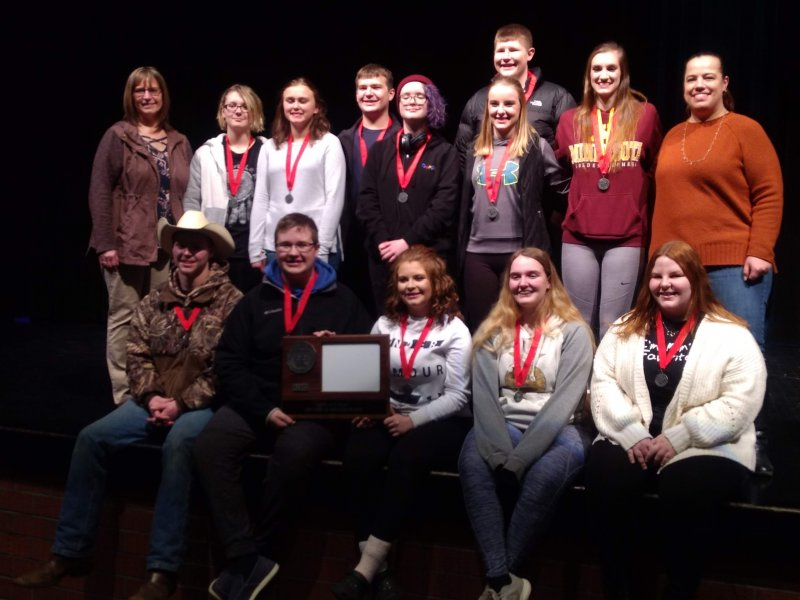 One Act, Section 3A 2nd place