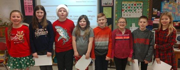 4th grade spellers