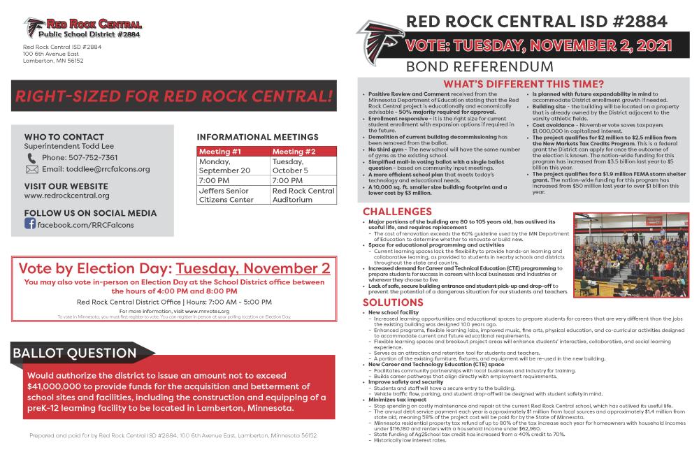 RRC Brochure page 1